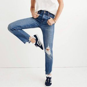 Madewell • NWT The Perfect Summer Jean Distressed
